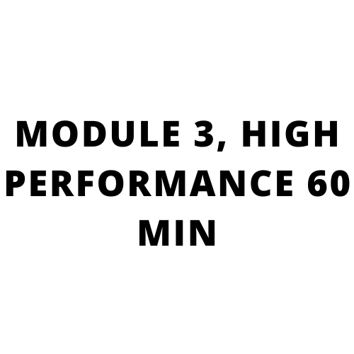 High performance sales training, Go beyond what you know: MODULE 3, HIGH PERFORMANCE 60 MIN