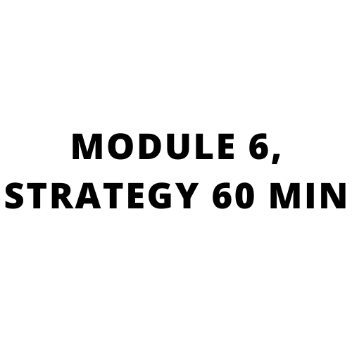 High performance sales training, Go beyond what you know: MODULE 6, STRATEGY 60 MIN